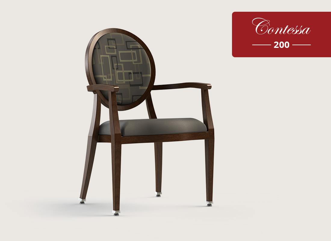 Contessa 200 w/ Chair Caddie Dining Chair